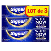 Signal White Now - Dentifrice - Gold - 3x Plus Blanc - 3x75ml