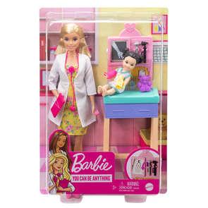 Barbie coffret métiers modèle aléatoire