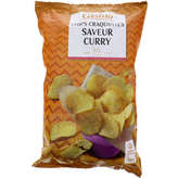 Chips craquantes - Saveur curry doux