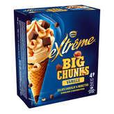 Nestlé Nestle Extrême - Chunky Factory - Cônes Glacés - Vanille Ch... - 2