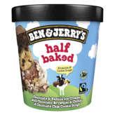 Ben & Jerry's BEN & JERRY'S Crème glacée - Brownies et Cookies dough - Cho... - 406g