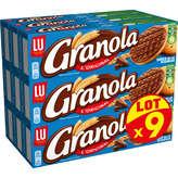 LU Lu Granola - Biscuit Chocolat Au Lait - 9x200g