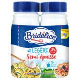 Bridelice Crème Légère Semi Épaisse - 2x25cl