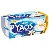 Nestlé NESTLE Yaos - Yaourt à la grecque - Saveur vanille - 4x150g