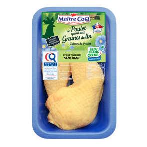 Cuisse de poulet certifé omega 3 - x2