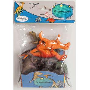 Sachet 8 dinosaures