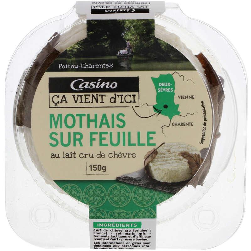 CASINO CA VIENT D'ICI Mothais sur Feuille - Fromage au lait ...