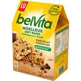 LU LU Belvita Petit déjeuner - Le moelleux - Biscuit aux pépite... - 250g