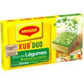 Maggi Kub Duo - Bouillon De Légumes Deshydraté Et Herbes Du ... - 105g