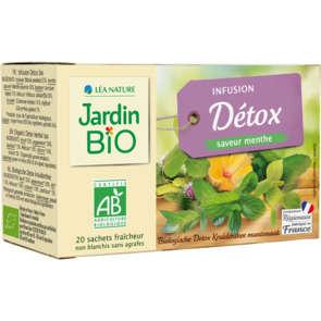 Jardin Bio infusion ventre plat menthe...