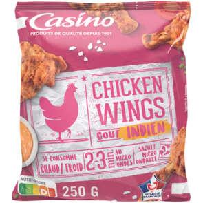Chicken wings - Ailes de poulet marinées et rôties - Goût indien