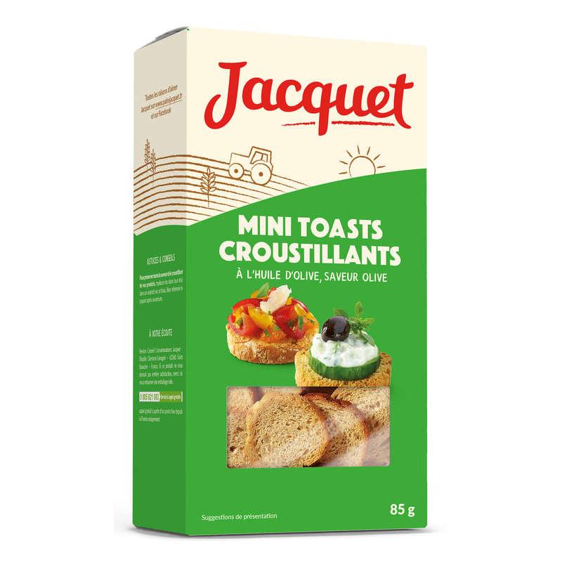 JACQUET Mini toats croustillants - Huile d'olive, saveur oli...