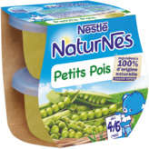 Nestlé Nestle Naturnes - Bol - Petits Pois - Dès 4-6 Mois