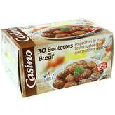 CASINO Boulettes au bœuf - 15% mg - 30 boulettes 9