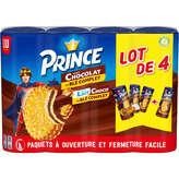 LU Lu Prince - Goût Lait Choco - Biscuits Fourrés - 4x300g