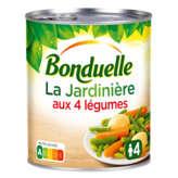 Bonduelle jardinière de légumes 4/4 510g - ( Prix Unitaire ) - Envoi Rapide Et Soignée