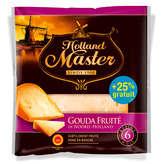 Holland Master Gouda Fruité Aop - Affiné 6 Mois - 25 % Gratu... - 200g