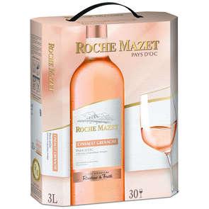 Cinsault Grenache - Vin de Pays d'Oc - Roche Mazet - Vin rosé