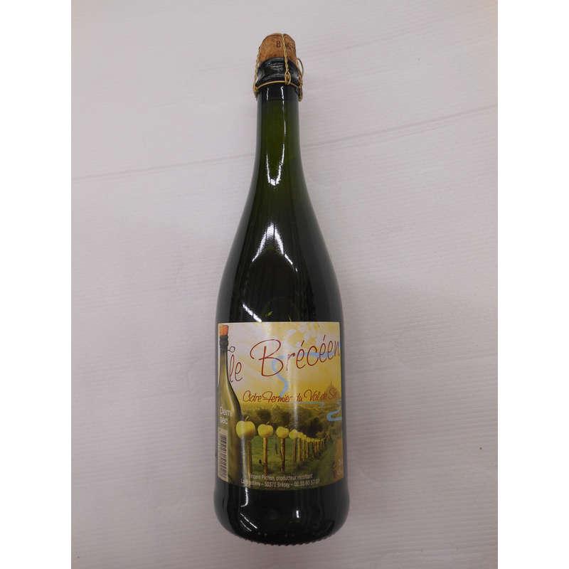 LE BRECEEN Cidre fermier - Demi sec - Alcool 4,5% vol. - Pro...