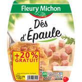 Fleury Michon FLEURY MICHON Dés d'épaule - 180g