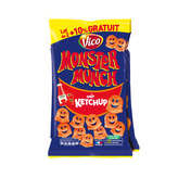 Monster Munch Vico  - Biscuits Apéritifs - Ketchup - 2