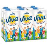 Candia CANDIA Viva - Lait - 10 vitamines - 6x1l