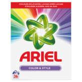 Ariel Color & Style - Lessive Poudre - 36 Lavages - 2,34kg