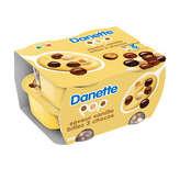 Danone DANONE Danette - Pop - Crème dessert vanille avec billes 3 c... - 4x117g