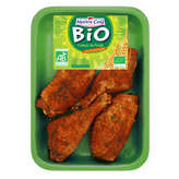 Cuisse poulet déjointée à la provençale, Bio, MAITRE COQ, barquette, 600g 600 g