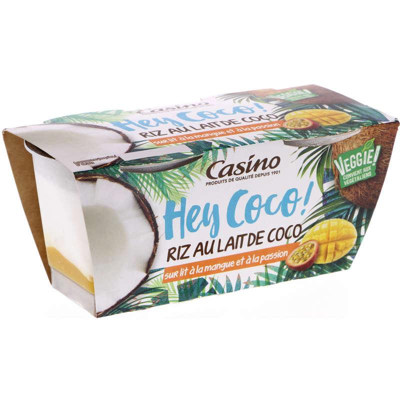 Hey Coco - Riz au lait de coco sur lit de mangue pass...