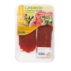 Carpaccio pur bœuf