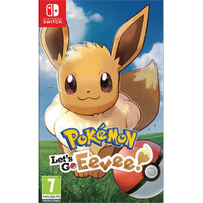 Jeu SWITCH Pokemon Let's go Evoli