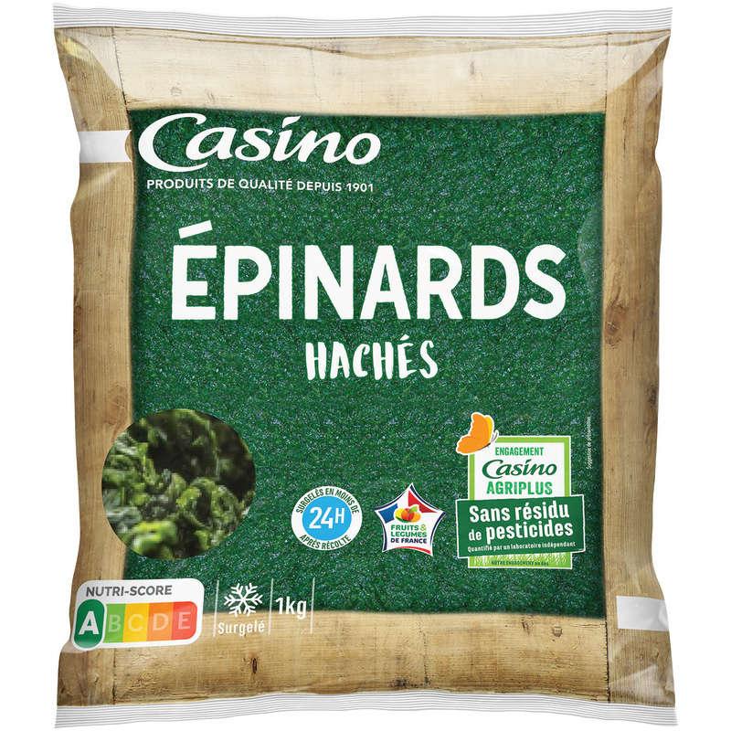 Epinards hachés - Sans pesticides