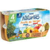 Nestlé Nestle Naturnes - Bol - Fruits Du Verger - Dès 6 Mois - 4