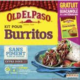 Old El Paso Kit Pour Burrito Sans Piment