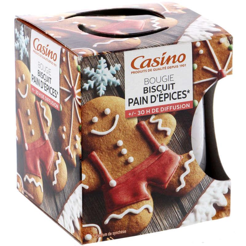 Bougie - Biscuit pain d'épices