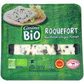 CASINO BIO Roquefort - Biologique 100g