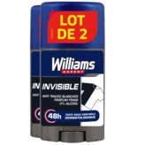 Williams Expert - Déodorant - Invisible - 2x75ml
