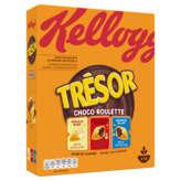 Kellogg's KELLOGG'S Trésor - Chocco roulette - Barre de céréales - 4 s... - 400g
