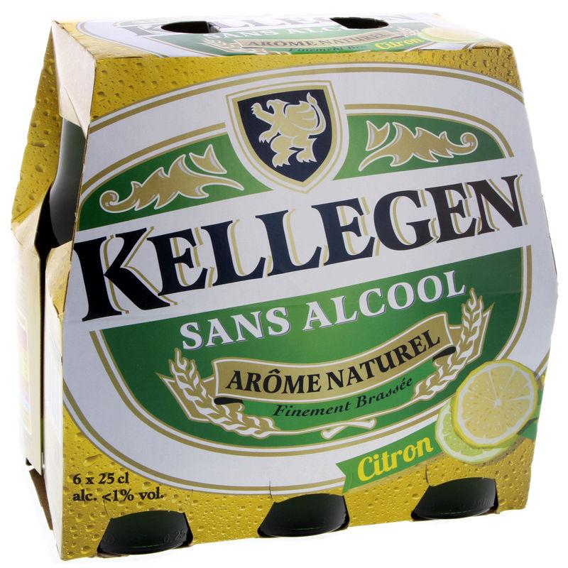 KELLEGEN Bière - Sans alcool - Arôme naturel citron