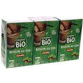 Boisson de soja au chocolat - x3 - Biologique