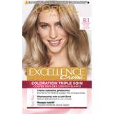 Excellence L'oreal Paris  Crème - Coloration 8/1 Blond Clair ...