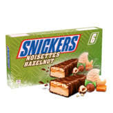 MARS Snickers - 6 barres Noisettes glacées