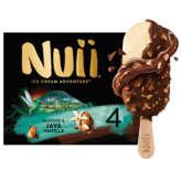 Nuii NUII Ice cream adventure - Bâtonnets glacés - Amande et vani... - 268g