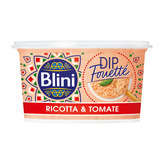 Blini Dip Fouetté - Ricotta Et Tomate - 120g