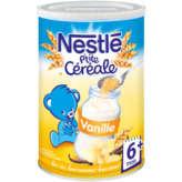 Nestlé P'tite Céréale - Céréales Vanille - Dès 6 Mois - 400g