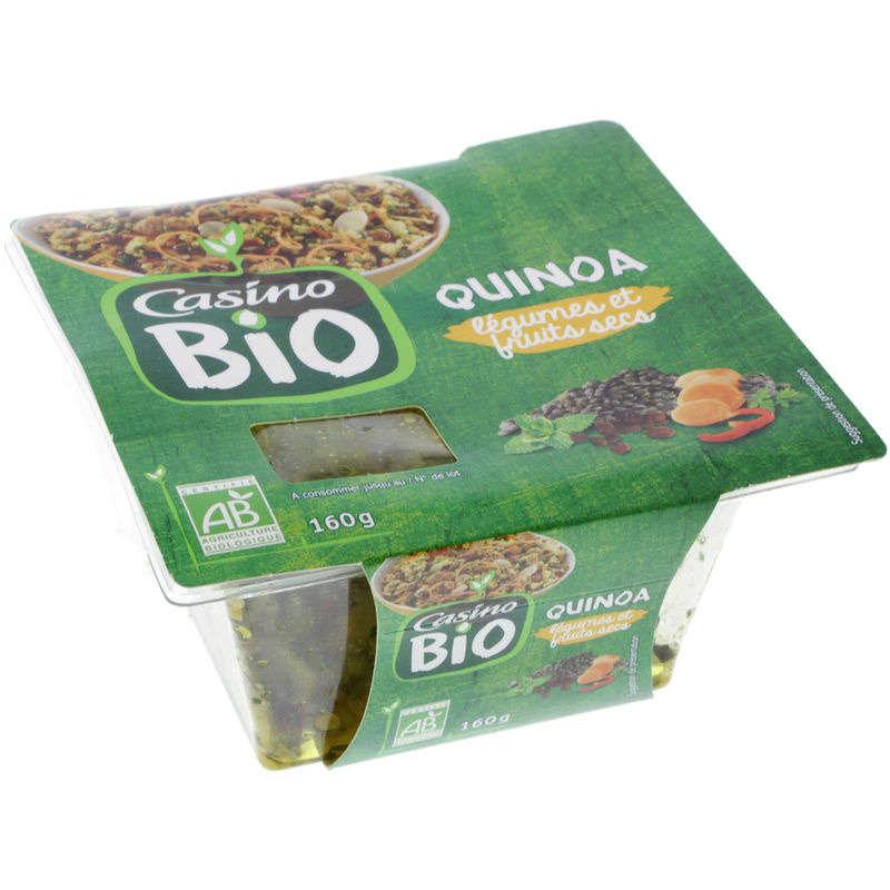 Salade de quinoa aux legumes et fruits secs - Biol