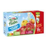 Materne MATERNE Pom'Potes - Compote à boire - Parfum pomme Nature, p... - 16x90g