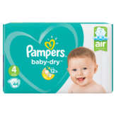 Pampers Baby-dry - Changes Bébés - Taille 4 - X44