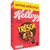 Kellogg's Tresor - Céréales - Chocolat Noisette - 750g